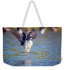 Black-necked Stilt  Weekender Tote Bag by Tam Ryan