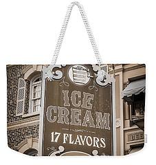 17 Flavors Weekender Tote Bag