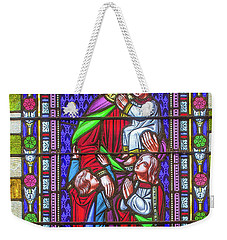 Saint Anne's Windows Weekender Tote Bag