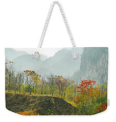 The Colorful Autumn Scenery Weekender Tote Bag