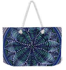 Weekender Tote Bag featuring the ceramic art #1702 by Kym Nicolas