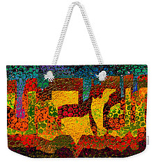 1732 Abstract Thought Weekender Tote Bag