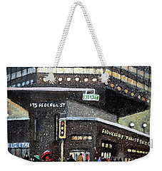 175 Federal Street Weekender Tote Bag by Rita Brown