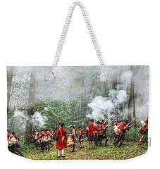 1763 Bushy Run British Counterattack Weekender Tote Bag by Randy Steele