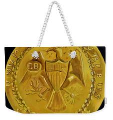 1787 Brasher Doubloon Weekender Tote Bag