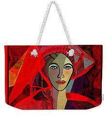 1791 - The Lady In Red 2017 Weekender Tote Bag