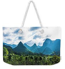 Countryside Scenery In Autumn Weekender Tote Bag