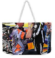 Junior Drag Racing March 2017 Weekender Tote Bag