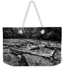 Weekender Tote Bag featuring the photograph Williams River Summer by Thomas R Fletcher
