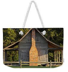 1844 Log Cabin Weekender Tote Bag