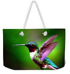 1846-007 - Ruby-throated Hummingbird Weekender Tote Bag