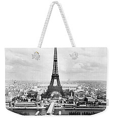 1889 Parisian Panorama Weekender Tote Bag
