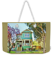 1890 Historical Beauty Weekender Tote Bag