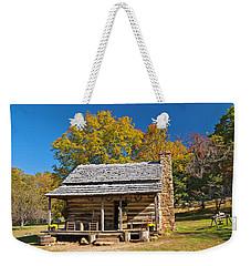 1890's Farm Cabin Weekender Tote Bag