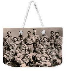 1896 Michigan Baseball Team Weekender Tote Bag