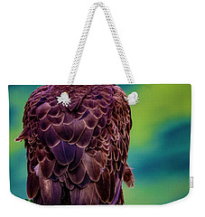 Weekender Tote Bag featuring the photograph Bald Eagle by Norman Hall