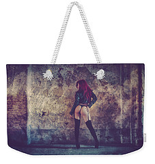 Weekender Tote Bag featuring the photograph Pretty Things Are Going To Hell by Traven Milovich