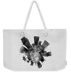 Black Skyround Art Of Los Angeles, United States Weekender Tote Bag