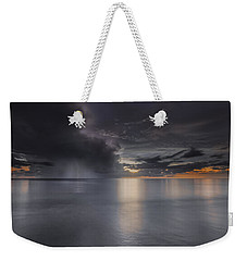 Sunst Over The Ocean Weekender Tote Bag by Peter Lakomy
