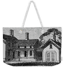 1900 Country Home With Garage Weekender Tote Bag
