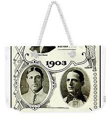 1903 World Series Poster Weekender Tote Bag