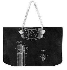 1905 Drum Patent Illustration Weekender Tote Bag