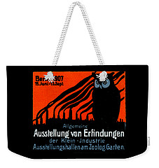 1907 Berlin Exposition Poster Weekender Tote Bag