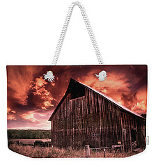 1912 Historic Barn Weekender Tote Bag