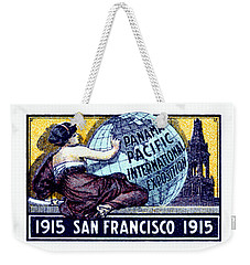 1915 San Francisco Expo Poster Weekender Tote Bag by Historic Image