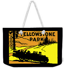 1920 Yellowstone Park Weekender Tote Bag by Historic Image