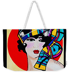 1920's Girl Anna Weekender Tote Bag by Nora Shepley
