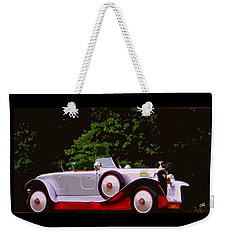 1921 Farman A6b Super Sport Torpedo Weekender Tote Bag