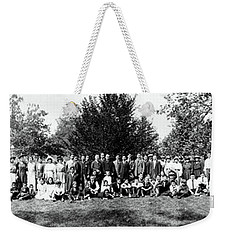 1921 Japanese Americans In Los Angeles California Weekender Tote Bag by Historic Image