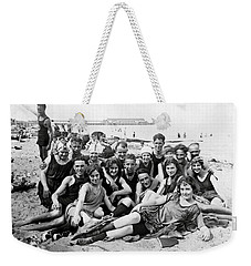 1925 Beach Party Weekender Tote Bag