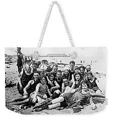 1925 Beach Party Weekender Tote Bag