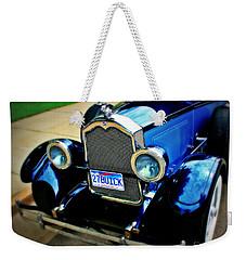 1927 Blue Buick Weekender Tote Bag