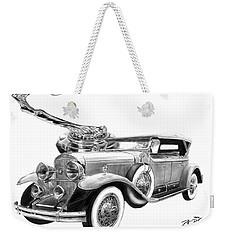 1929 Cadillac  Weekender Tote Bag