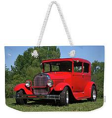 1929 Ford Sedan Hot Rod Weekender Tote Bag
