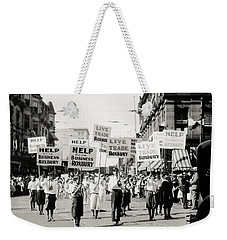1930 Rally In Roxbury Boston Weekender Tote Bag