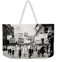 1930 Rally In Roxbury Boston Weekender Tote Bag
