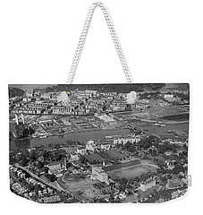 1930's Northern Manhattan Aerial  Weekender Tote Bag by Cole Thompson