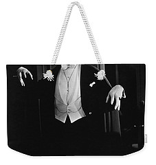 1931 Dracula Bela Lugosi Weekender Tote Bag