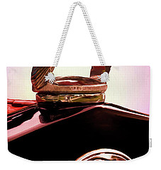 Weekender Tote Bag featuring the photograph 1931 Ford Truck Quail by Trey Foerster