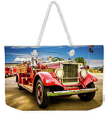 1931 Mack - Heber Valley Fire Dept. Weekender Tote Bag
