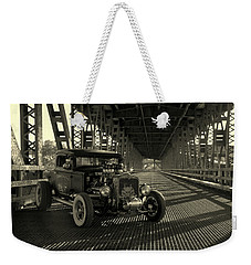 1931 Nash Coupe Rat Rod Weekender Tote Bag