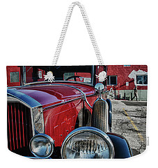 Weekender Tote Bag featuring the photograph 1931 Pierce Arow 3473 by Guy Whiteley