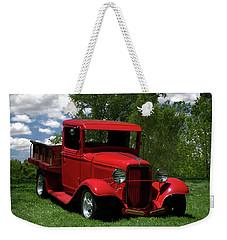 1932 Ford Flatbed Pickup Weekender Tote Bag