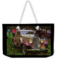 1932 Packard 900 Weekender Tote Bag