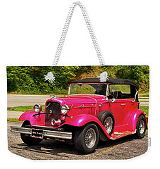 1932 Street Rod 001 Weekender Tote Bag by George Bostian