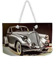 1933 Pierce-arrow Silver Arrow Weekender Tote Bag
